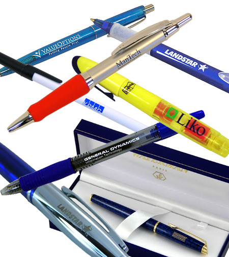 Custom Logo Pens, Pencils, Writiing Instruments